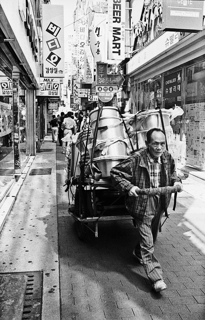 Nampodong Market Man